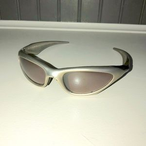RARE Oakley Scar Sunglasses in gold